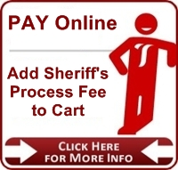 Add Sheriff's Processing Fee to Cart